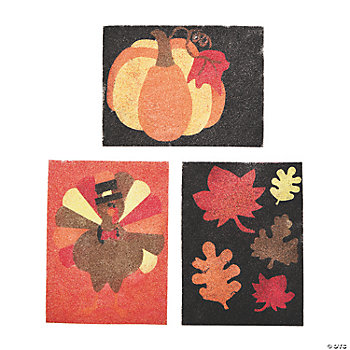 Fall Sand Art Picture Craft Kit