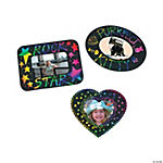 Magic Color Scratch Photo Frame Magnets