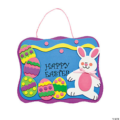 """Happy Easter"" Sign Craft Kit"