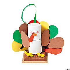 Marshmallow Turkey Ornament Craft Kit