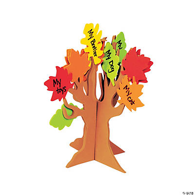 Standing Tree of Thanks Craft Kit