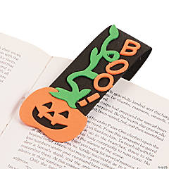 Foam Halloween Bookmark Magnet Craft Kit