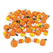 Glass Halloween Beads - 12mm-19mm