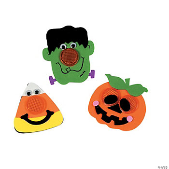 Halloween Reflector Pin Craft Kit