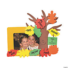 """Tree of Thanks"" Picture Frame Magnet Craft Kit"