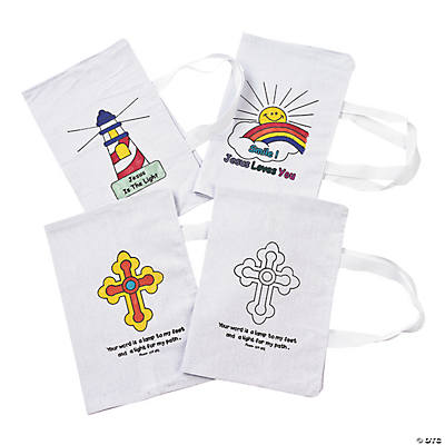 Color Your Own Bible Covers - 12 pcs.