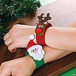 Holiday Slap Bracelet Craft Kit