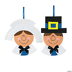 Paper Plate Pilgrim Craft Kit