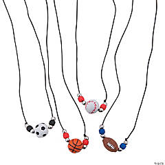 Sport Ball Necklace Craft Kit