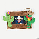 Western Photo Frame Magnet Craft Kit