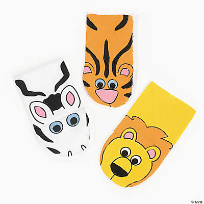 Canvas Zoo Animal Hand Puppets
