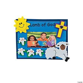 """Lamb Of God"" Photo Frame Craft Kit"