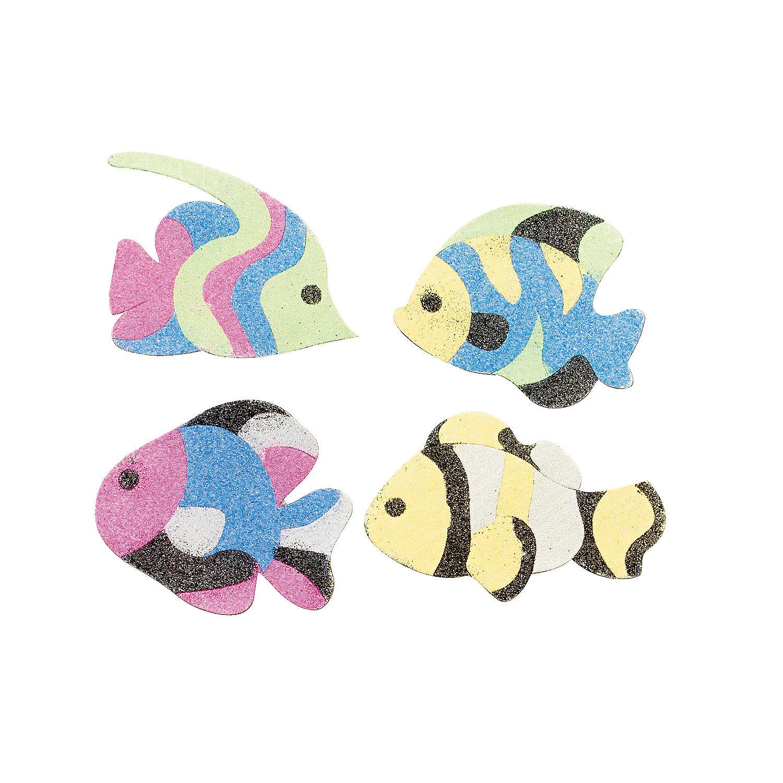 Unique's Shop Fish Sand Art Magnet Craft Kit at Sears.com