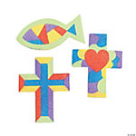 Religious Sand Art Magnet Craft Kit