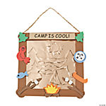 Embossed Foil Camp Sign Craft Kit