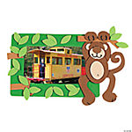 Monkey Photo Frame Magnet Craft Kit