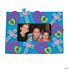 Cross Photo Frame Magnet Craft Kit