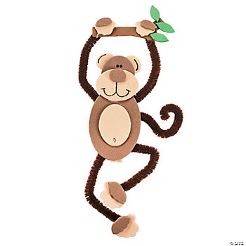 Monkey Magnet Craft Kit