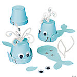 Flowerpot Whale Craft Kit