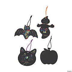 Magic Color Scratch Halloween Shapes