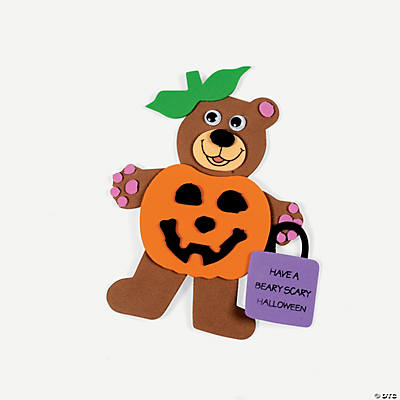 Halloween Bear Magnet Craft Kit