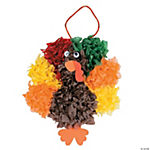 Tissue Paper Turkey Craft Kit