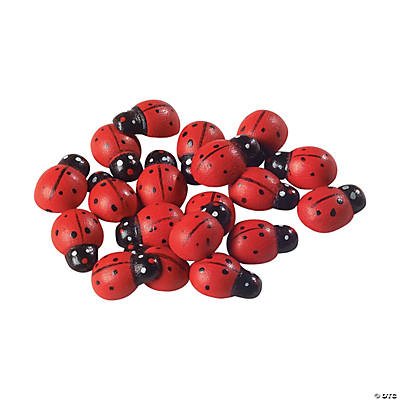 Self-Adhesive Ladybugs