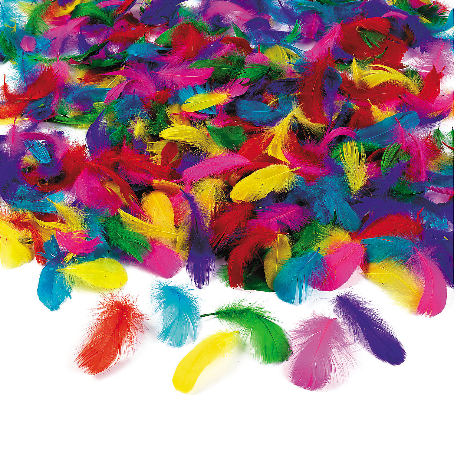 Bulk feather assortment oriental trading for Bulk arts and crafts