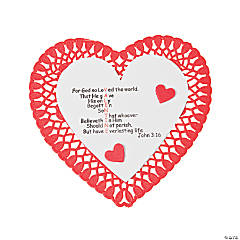"""John 3:16"" Valentine Craft Kit"