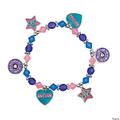 Metal Mom Charm Bracelet Craft Kit