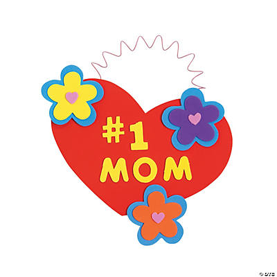 """#1 Mom"" Hanging Decoration Craft Kit"