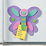 Butterfly Memo Clip Magnet Craft Kit