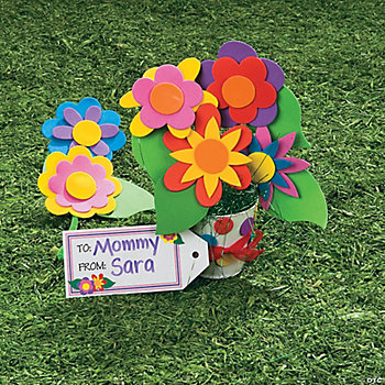 Flowers For Mom Bouquet Craft Kit