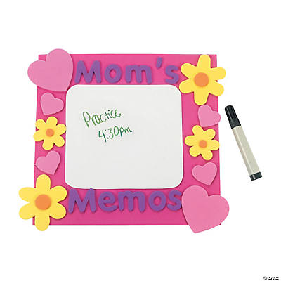 """Mom's Memos"" Board Magnet Craft Kit"