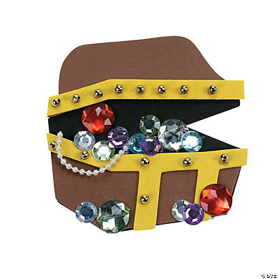 Treasure Chest Magnet Craft Kit