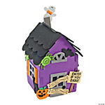 Foam 3D Haunted House Craft Kit