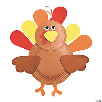 Paper Plate Turkey Craft Kit