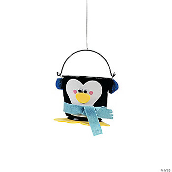 Penguin Bucket Craft Kit