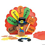 Paper Plate Turkey Centerpiece Craft Kit
