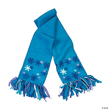 Fleece Snowflake Scarf Kit