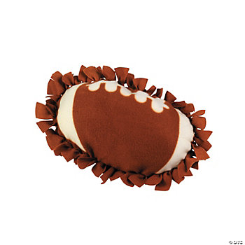 Football Tied Pillow Craft Kit