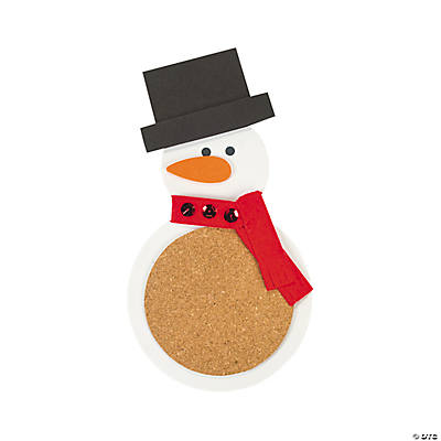 Snowman Coaster Craft Kit