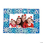 Snowflake Photo Frame Magnet Craft Kit