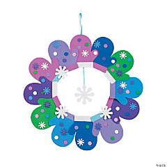 Mitten Wreath Craft Kit