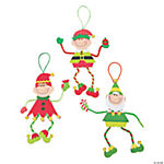 Make-An-Elf Christmas Craft Kit