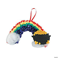 Tissue Paper Rainbow Craft Kit