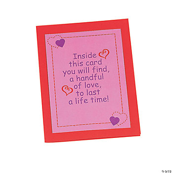 Handprint Heart Card Craft Kit