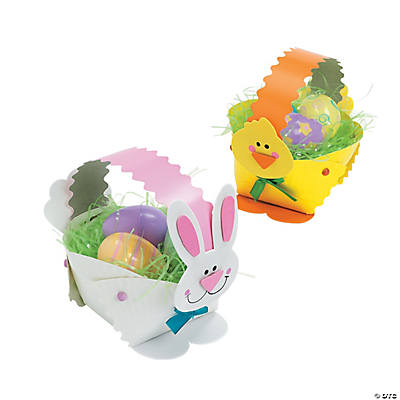 Paper Plate Bunny & Chick Easter Basket Craft Kit
