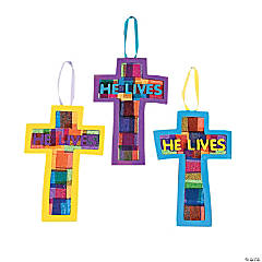 """He Lives!"" Cross Craft Kit"