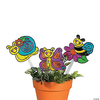Happy Bug Sun Catcher Garden Stakes